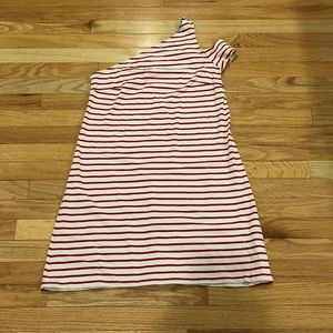 NWT Anthropologie One-Shoulder striped Dress XS